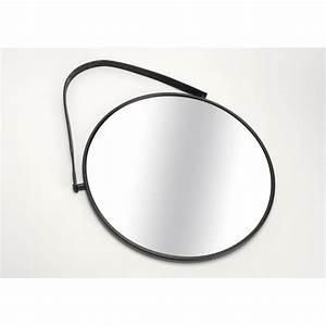 Miroir Rond Cuir : catgorie miroir page 22 du guide et comparateur d 39 achat ~ Teatrodelosmanantiales.com Idées de Décoration