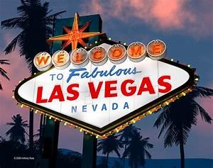 """""""Fabulous Las Vegas Sign Night Version Retro Neon """" by"""