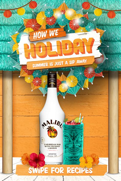 Some people like to add rum to their cider as an. Buy Malibu Rum this holiday season at a local retailer!   Christmas drinks, Rum drinks ...