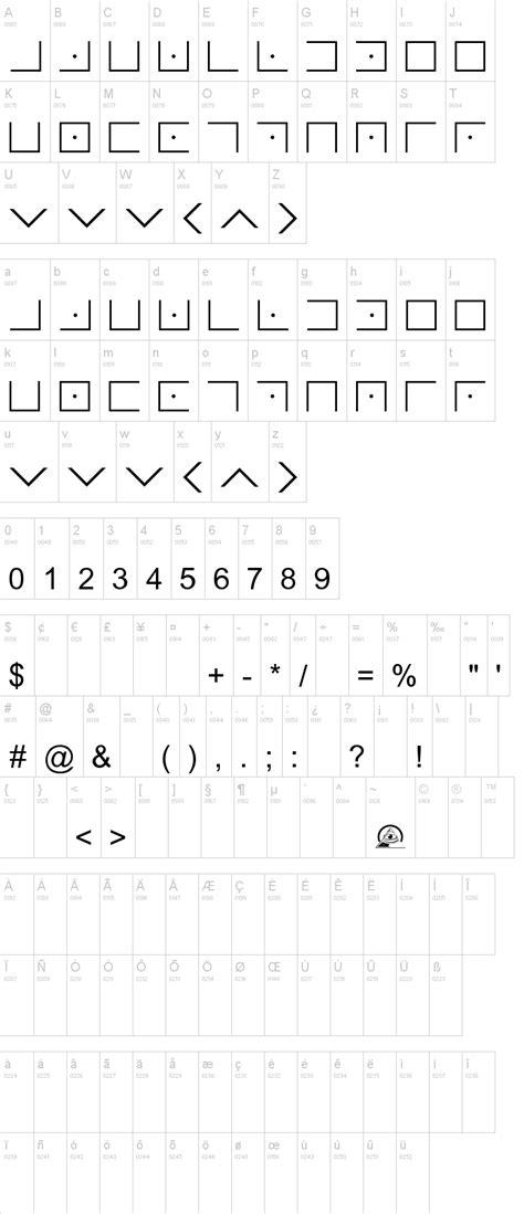 Illuminati Font Illuminati Masonic Cipher Font Dafont