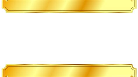 gold metal sign backgrounds 3d border frames white