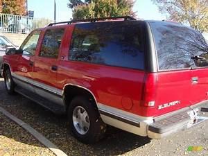 1997 Victory Red Gmc Suburban C1500 Slt  21005585 Photo  5