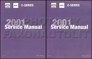 2001 Topkick  U0026 Kodiak C 7000 Repair Shop Manual