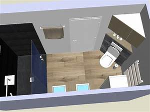 agencement de salle de bain carrelage imitation bois et With carrelage salle de bain imitation parquet