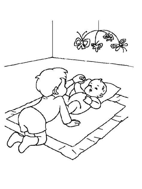 Kleurplaat Slinger Geboorte by Speciale Dagen Geboorte Kleurplaat 187 Animaatjes Nl