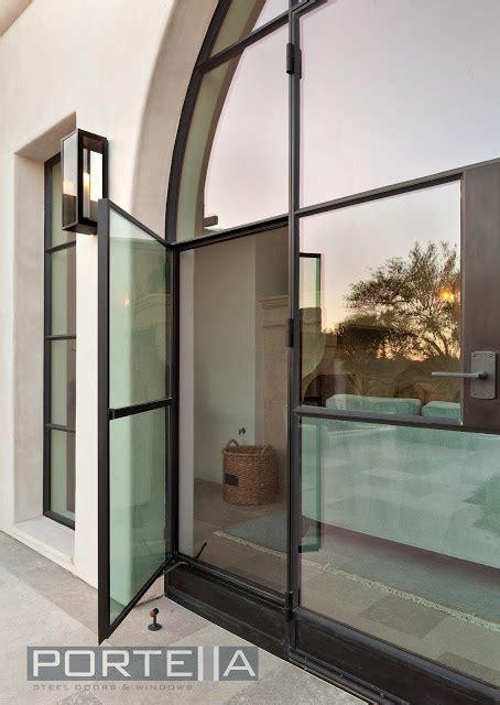 storefront interior  swing casement window portella