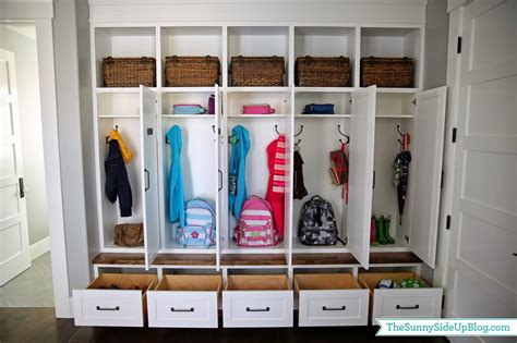 My New Organized Mudroom!-the Sunny Side Up Blog