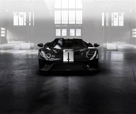 2017 Ford Gt 66 Heritage Edition Is A Twin Turbo Middle