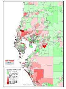 Tampa Bay Population Density Map