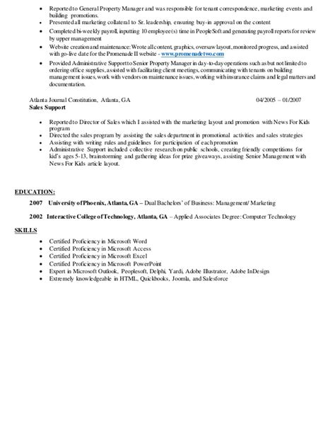 Resume Building Website Reviews by Contract Coordinator Resume