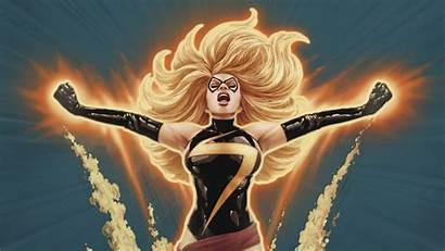 Marvel Ms Wallpapers Avengers Danvers Carol Screensavers