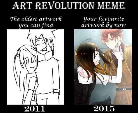 Meme Evolution - art evolution meme by akiraka chan on deviantart