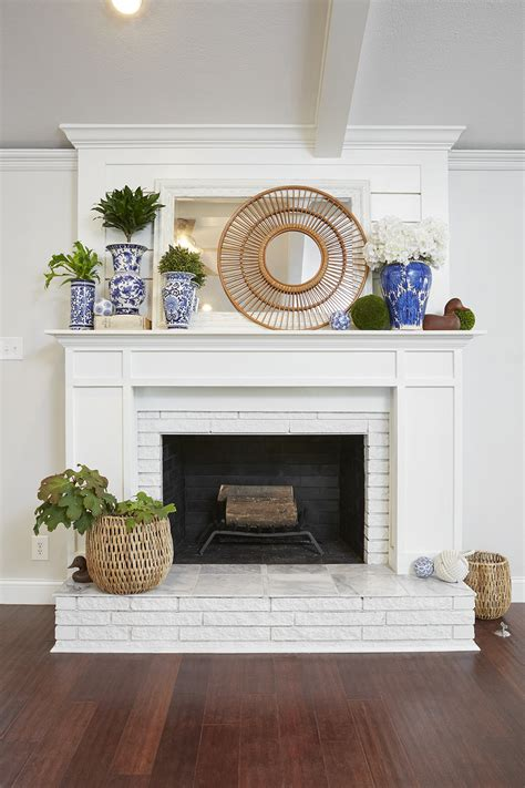 Fireplace Paint - how to paint a brick fireplace and the best paint to use
