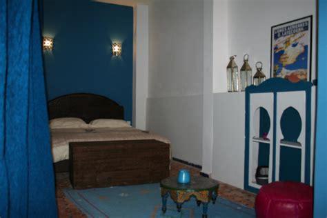 chambre blue riad meknes chambres d 39 hôtes maroc riad el ma la