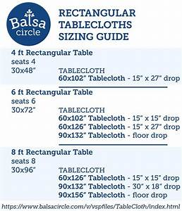 Table Chart Linen Sizing Guide 16 Best Linen Sizing Guides Images On Pinterest Table