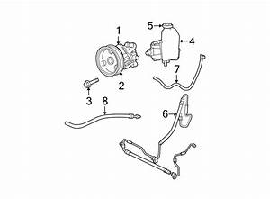 Jeep Grand Cherokee Power Steering Return Hose