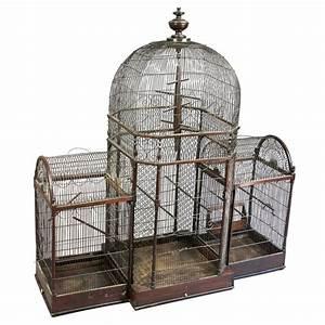 Regency Mahogany Bird Cage at 1stdibs