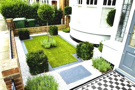 terrace house front garden ideas posts design  terraced