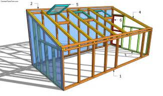plan to build a house lean to greenhouse plans free garden plans how to