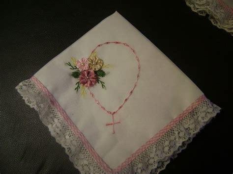 como hacer servilletas de liston para bautizo imagui bautizo ni 241 o servilletas bordadas a