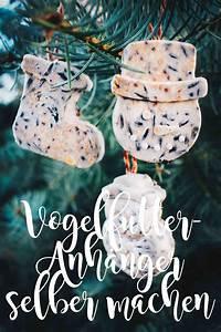 Anhänger Selber Machen : diy meisenkn del und winterliche vogelfutter anh nger selber machen mit weihnachtlichen motiven ~ Watch28wear.com Haus und Dekorationen
