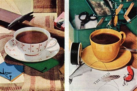 The best way to do that is to put a whole bunch of sugar in it. The perks of vintage coffee: How a cup of joe became the #1 drink all across America, plus old ...