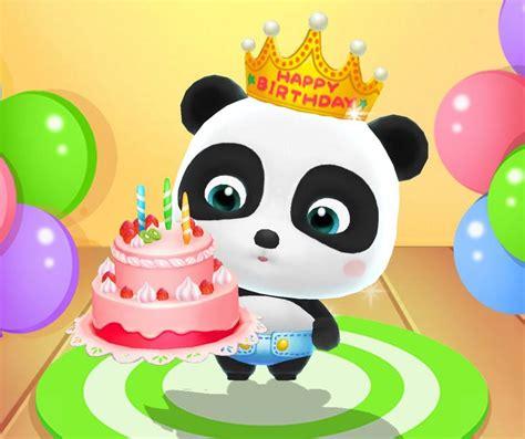 toddler kiki   birthday cake happy birthday baby panda birthday happy birthday