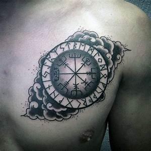 Symbole Für Unglück : vegv sir tattoos compass vikings and chest tattoo ~ Bigdaddyawards.com Haus und Dekorationen