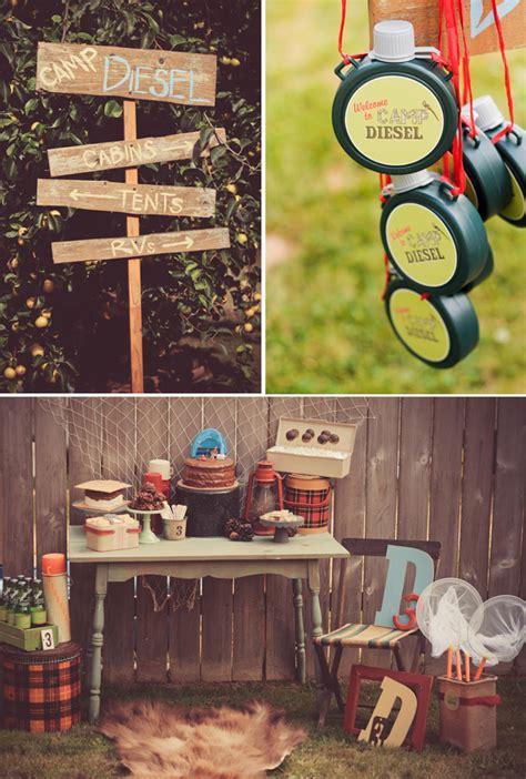 Backyard Camping Party Ideas! Pizzazzerie