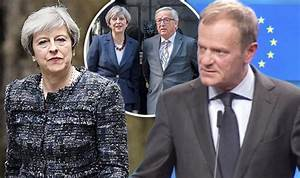 Brexit news - Donald Tusk criticises Theresa May over ...