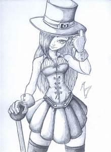 Steampunk girl by kain14843 on DeviantArt
