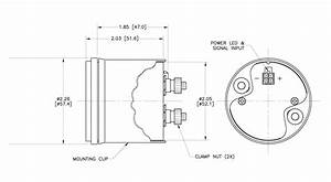 Smx Fully Marinized 1500 U00b0f Pyro Gauge Kit