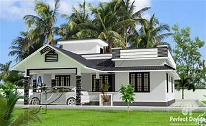 Beautiful, One, Storey, Home, Design