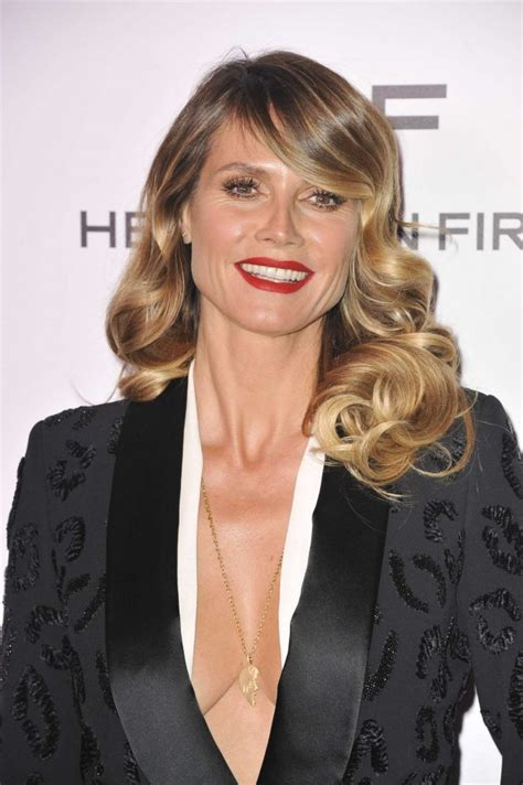 Heidi Klum Harpers Bazaar Celebrates Most Fashionable