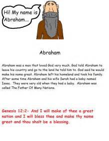 Abraham Sunday School Lessons