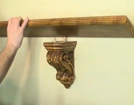 Shelf Corbel by Fix My Cabinet 187 Corbel Shelf Bracket Installation