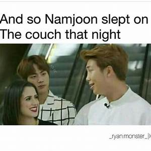 Omg jealous Jin... Laughing At Jealousy Quotes