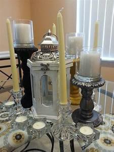 10 best images about diy dining table centerpiece on With dining room table candle centerpieces
