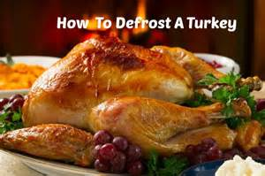 how does it take to defrost a turkey how long does it take to thaw a turkey