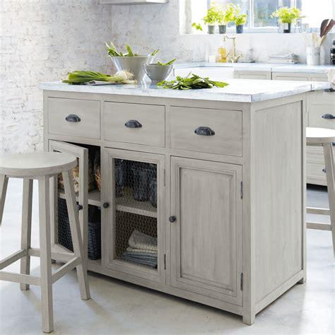 ilot cuisine maison du monde deco de charme maison 20 ilot central 120 cm 2