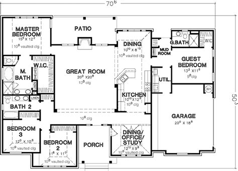 bedroom house plans single story google search house