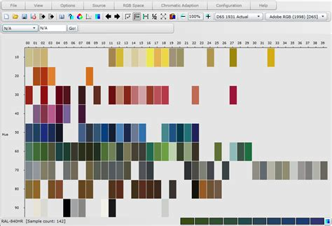 html hr color atlas munsell