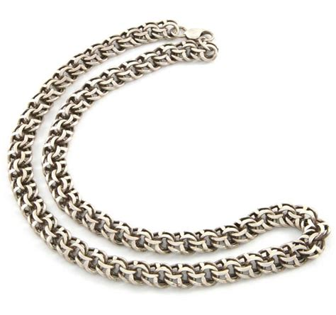 Как сделать 100 граммовую серебряную Якорную цепь?handmade silver gourmette chain