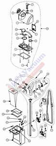 Proteam Proforce 1500 Hepa Upright Vacuum Parts List