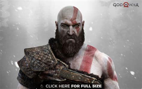 God Of War Kratos Ps4 Hd Wallpaper