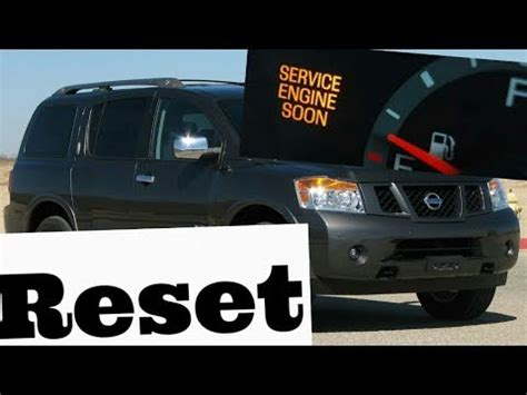 2005 nissan frontier service engine soon light how to reset service engine soon light on a 2005 nissan
