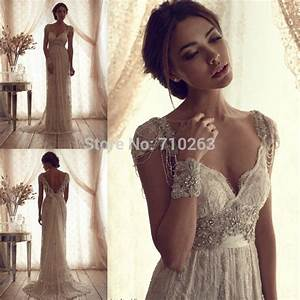 vintage ivory lace wedding dress 2016 high quality elegant With vintage ivory lace wedding dress