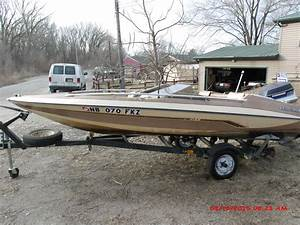 Glastron Gx150 16 U0026 39  Boat 85hp Evinrude 1985 For Sale For
