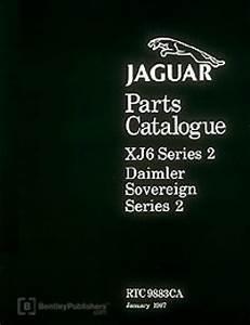 Jaguar Xj6 Series 2 Spare Parts Manual 1972