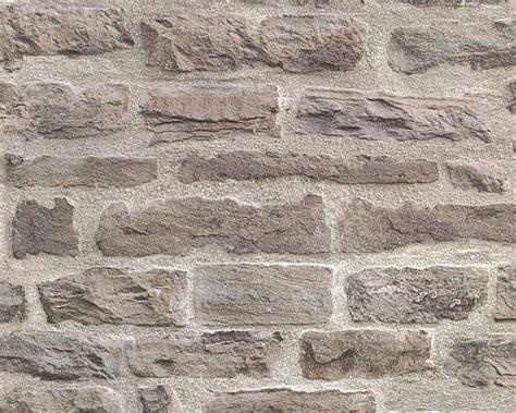Muster Tapete Steinoptik by Vlies Tapete Steinoptik Steine As Creation Beige Grau 31944 1